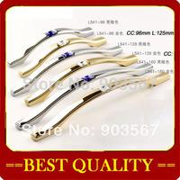 wholesale (CC: 128mm) K9 crystal handle,cabinet handle furniture handles,Cabinet Knobs Zinc Alloy Drawer Pulls crystal Knobs