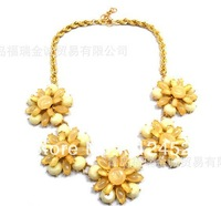 2014 HOT Women Necklace Foreign trade Fashion Jewelry Fancy a short necklace corsage necklace