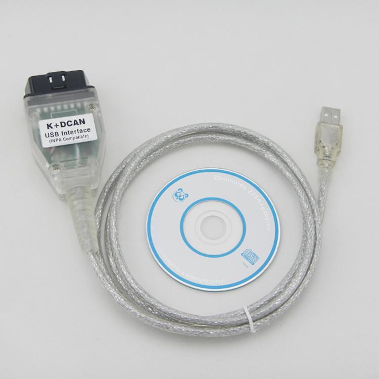 2014 [ Aliexpress top selling] for BMW INPA K+CAN INPA K DCAN USB OBD2 Interface INPA Ediabas(China (Mainland))