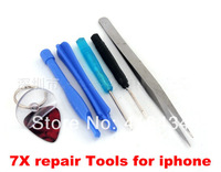 Phone Disassemble Tools set Kit Repair Tools Opening Tools For iPhone HTC iPad Cell Phone Tablet PC 7 in 1 300pcs