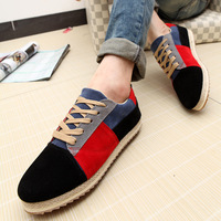 2014 New  Free shipping   skateboarding  Flats shoes spring  british style casual sneaker shoes for  men  size: 39-44 E-9