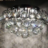 Modern crystal  ceiling light LED crystal ceiling light  E14