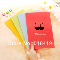 Fresh candy color stitch book notebook notepad portable cartoon ben diary