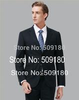 High quality wool black party customized tuxedo male suits 5 pieces(Coat+Pants+Vest+tie+Shirt) TZ026 best man wedding suit