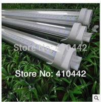 FedEX Free shipping 100pcs/lot 20W 1200MM T8 LED Tube Light High brightness Epistar SMD2835 25LM/PC 96led/PC 2200LM AC100-265V