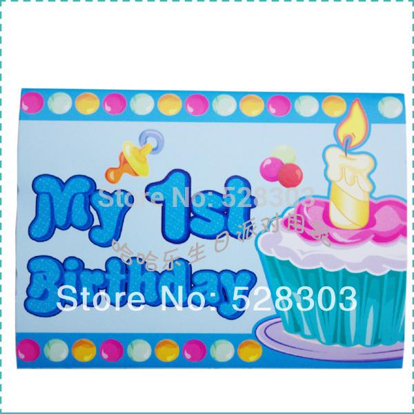happy 1st birthday boy card