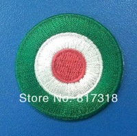wholesale free shipping Serie A COPA ITALIA COCKADE green soccer patch soccer Badges