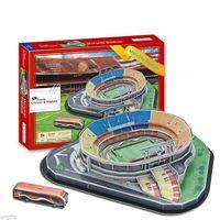 3D Puzzle Model Estadio do Morumbi Stadium Sao Paulo CIcero Pompeu de Toledo NEW