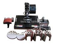 New Design 30*38CM 8 in 1 Combo Heat Press Machine Cap/Mug/Plate/T-shirt Sublimation Machine
