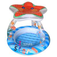 Yc original intex pool sun-shading infant swimming pool baby inflatable bathtub