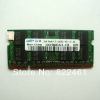 Free shipping Original  2G DDR2 667  memory PC2-5300 Compatible  533 800