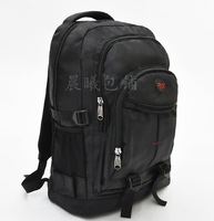 Black men shoulder bag large capacity luggage bag backpack schoolbag college boys Fashionable