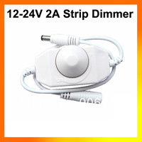 DC 12-24V 2A LED Light Strip Dimmer Brightness Adjustable