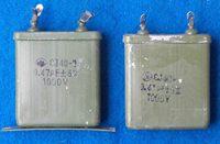 Cj40 metal capacitor 0.47uf 1000v ,