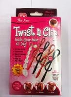 Twist n clip hair stick fashion hairpin plate hairpin universal pin hair accessory