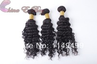 FREE SHIPPING virgin queen indian curly hair 4pcs/lot Mix Length One Donor virgin human hair extension