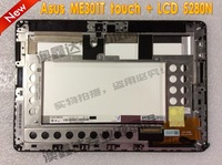 Spot new original for Asus ME301T TF301T 5280N Tablet PC touch screen LCD assemblies + N101ICG-L21 Free Shipping