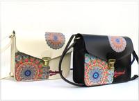 New 2014 Free Shipping! High Quality Desigual Women Messenger Bag Women Leather Bag Small Bag