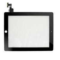 1 X black Replacement touch screen pantalla tactil digitizer  tela sensivel ao toque pekskarm for Apple ipad 2