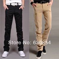 2014 new Big Sale !Free Shipping New Korean Styles Fashion Men's pants, Casual straight leisure trousers