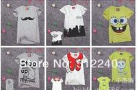 2014 new women's T-shirt Women's T-shirt short-sleeved T-shirt printing faster shipping T-shirts for women