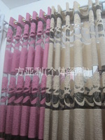 2014 new fabric home decoration curtains  flowers screens rose red  yellow 280cm width