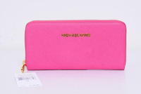 wholesale+Retail 1pcs new arrival luxury leather Wallet case With Chain Purse for iPhone 4 4S 5 5S
