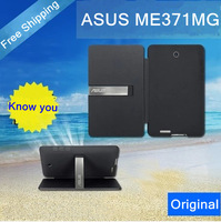 Free shipping by HK air !!!The Original leather flip cover tablet case for asus fonepad me371mg fit asus me371mg