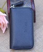 genuine leather key wallet multifunctional key wallet male women's car key wallet