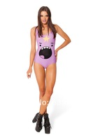 2014 fashion New Sexy BLACK MILK new street exclusive Lumpy Space Princess no padding one-piece Swimsuit
