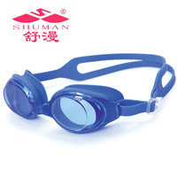 Goggles plain waterproof anti-fog swimming goggles adult goggles quality fashion elegant comfortable