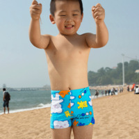 Child cartoon swimming trunks baby swimming pants male child swimwear boys swimwear boxer swimming trunk