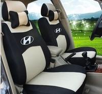 "Free Shipping+""Generic Car Version"" Seat Cover For HYUNDAI Solaris Elantra Accent Sonata sonata nf Verna Avante i30 ix35 +Logo"