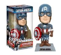 CAPTAIN AMERICA The First Avenger Bobble Head Figure NIB