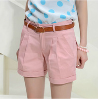 Size S-XXXL New Korean Style Summer Slim All-match Cotton Beach Holiday Casual Shorts For Women Free Shipping LJ815