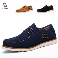 2014 new Fashion fur leather Sneakers for Men British Stylish Male Top Quality Men Shoes Breathable Leisure Shoes Flats