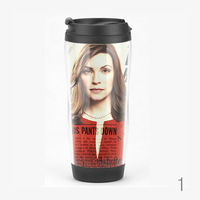 The Good Wife Travel Mug, Julianna Margulies, CBS TV Series Starbucks Tumbler, Coffee Cup, High Quality Made in Japan