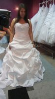 2014 white/ivory wedding dress custom size: 4-6-8-10-12-14-16 + + +