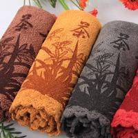 Superfine fiber tea towels, absorbent strong, kung fu tea towels, high-grade tea cloth, tea tools~