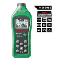 MASTECH MS6208B Non-contact Digital Tachometer 50RPM-99999RPM with High-speed microcontroller