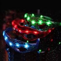Luminous led flashing glasses birthday christmas props ball supplies