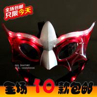 Mask glasses luminous mask led flash masquerade masks a30 hip-hop props