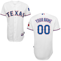 Free Shipping Custom Texas Rangers Baseball Jersey Authentic Personalized 2014 New Cool Base Stitched On-field Baseball Jerseys