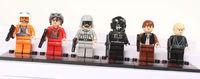 6pcs/lot star wars Toys & Hobbies Classic Toys Action Figures DIY Building Blocks Bricks Minifigures for kids gift