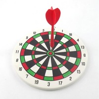 16cm dart Board with 4pcs darts free drop shipping