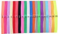 Stretch Elastic Headbands DIY headband -60 pcs/lot U pick color ,20 colors