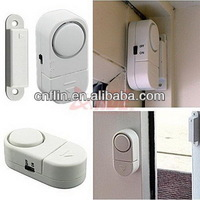 200pc/lot Wireless Home Security Door Window Entry Alarm warning System Magnetic Sensor