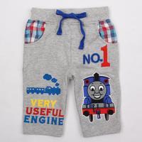 new summer 2014 nova brand children's boys casual short pants printed cars Mid Loose baby boys shorts free shipping D4159