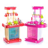 Suitcase girl toys artificial sooktops tableware belt oven 115
