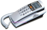 Wall-mounted telephone calls LCD ringtones free cell regulation red silver blue colour Can be used worldwide